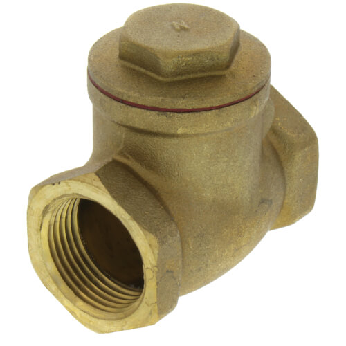 "3/4"" Threaded Swing Check Valve, Lead Free Product Image"