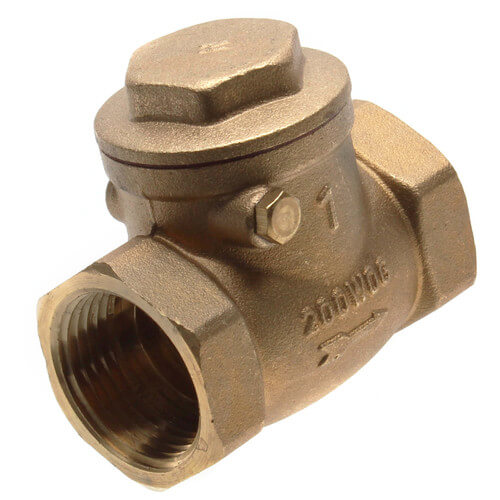 "1"" Threaded Swing Check Valve, Lead Free Product Image"