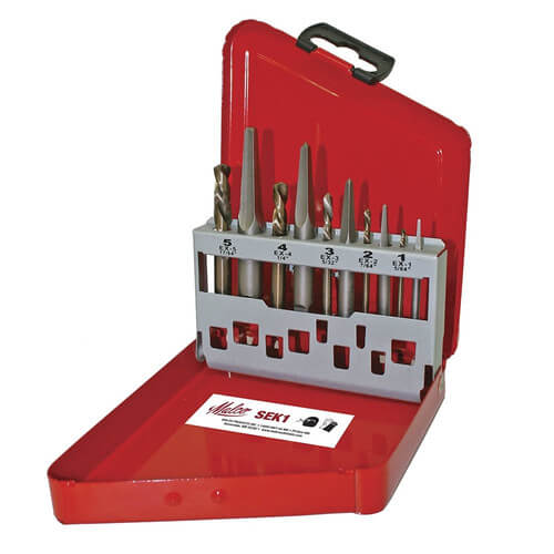 SEK1 10 Piece Screw Extractor Kit Product Image