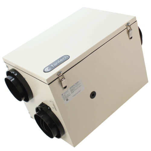 """SER 150 Series Energy Recovery Ventilator w/ Defrost Mechanism, 6"""" Side Ports (up to 3,200 Sq. Ft.) Product Image"""