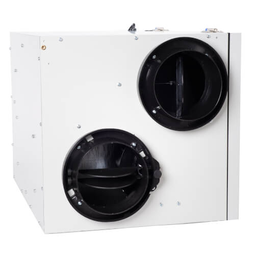 "SER Series Energy Recovery Ventilator w/ Defrost Mechanism, 6"" Side Ports (up to 4,200 Sq. Ft.) Product Image"