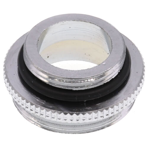 """11/16"""" Male x 55/64"""" Male Thread Chrome Aerator Adaptor for Chicago Faucets Product Image"""