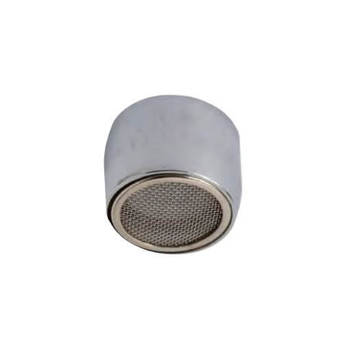 """3/4"""" Slotless Chrome Female Thread Faucet Aerator w/ Washer, 2.2 GPM Product Image"""