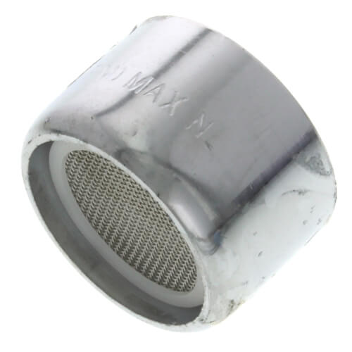 Slotted Chrome Female Thread Faucet Aerator w/ Washer, 2.2 GPM Product Image