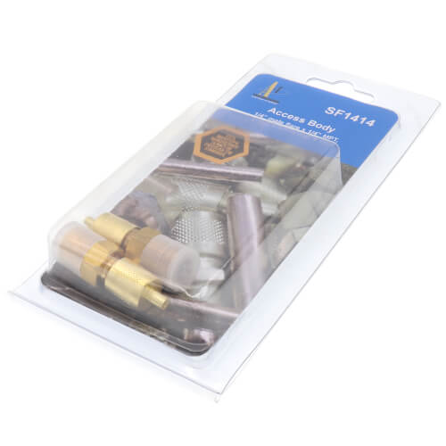 "1/8"" Flare x 1/8"" NPT Dryseal Access Fitting (6 Pack) Product Image"
