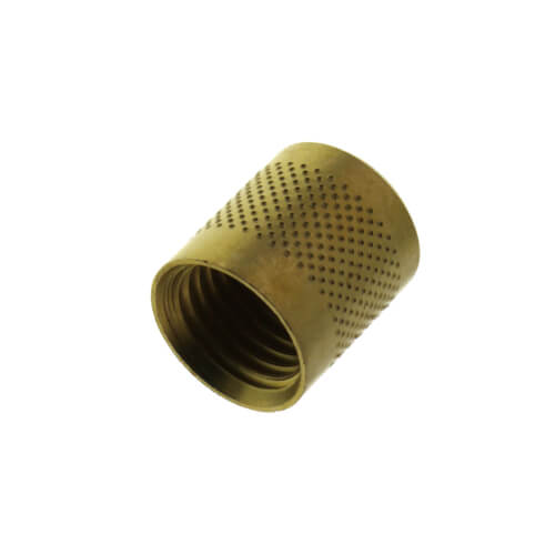 "1/4"" Heavy Duty Round Brass Cap w/ Neoprene Seal (25 Pack) Product Image"