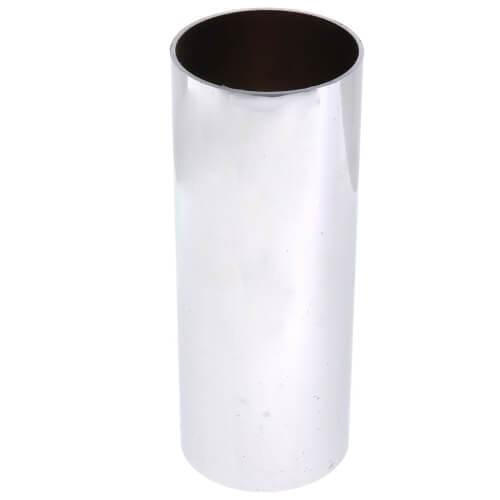 """1-3/16"""" x 3-3/16"""" Chrome-plated Brass Escutcheon Sleeve for Price Pfister Product Image"""