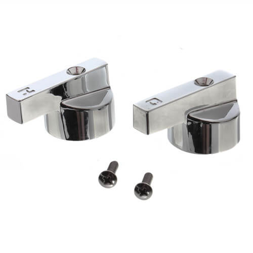 American Standard Heritage Handles for Lav/Kitchen/Tub/Shower, Pair (Chrome) Product Image