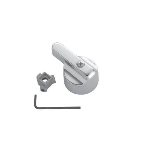 Universal Large Canopy Lever Diverter Handle for Lav/Kitchen/Tub/Shower (Chrome) Product Image
