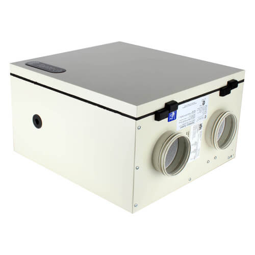 """SH Series Heat Recovery Ventilator w/ Fan Shutdown Defrost, 4"""" Side Ports (up to 1,400 Sq. Ft.) Product Image"""