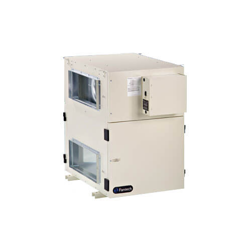 SHR Series Commercial Heat Recovery Ventilator w/ Fan Shutdown Defrost (640-1,410 CFM) Product Image