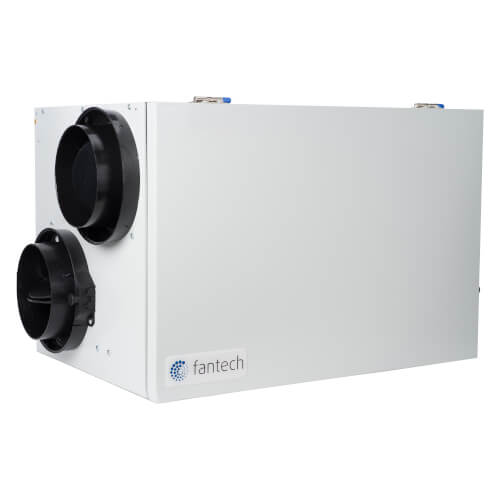 SHR Series Heat Recovery Ventilator w/ Fan Shutdown Defrost & Side Ports Product Image
