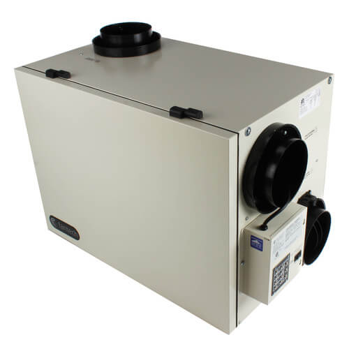 """SHR Series Heat Recovery Ventilator w/ Recirculation Defrost, 6"""" Side Ports (up to 5,000 Sq. Ft.) Product Image"""