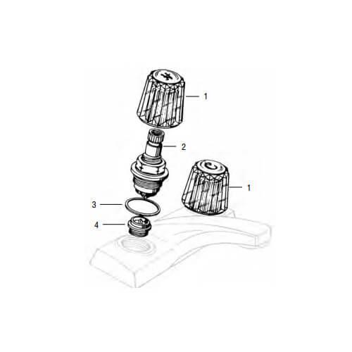Price Pfister Old Style Windsor Lav/Kitchen Rebuild Kit Product Image