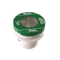 20 Amp Time Delay Loaded Link Rejection Base Plug Fuse (125V) Product Image