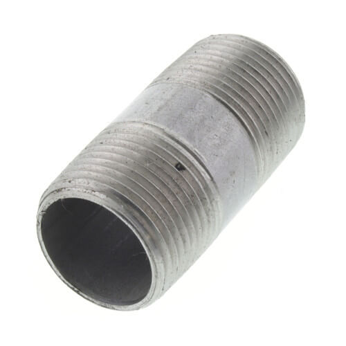 "3/4"" x 2"" Stainless Steel Nipple Product Image"