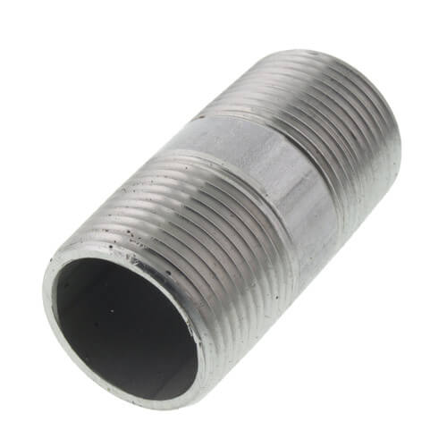 "1"" x 2-1/2"" Stainless Steel Nipple Product Image"