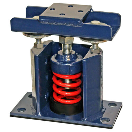 Deflection Restrained Seismic Spring Mounts (85 lbs Capacity) Product Image