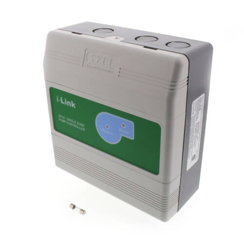 1 Zone Pump Controller Switching Relay with Surge & Fuse Protection (DPDT) Product Image