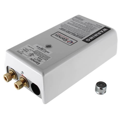 SP3208 Single Point Electric Tankless Water Heater w/ Top Connections Product Image