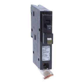 Homeline Single Pole 20A Combination Arc Fault Circuit Breaker Product Image