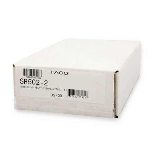 SR502-2 - Taco SR502-2 - 2 Zone Switching Relay