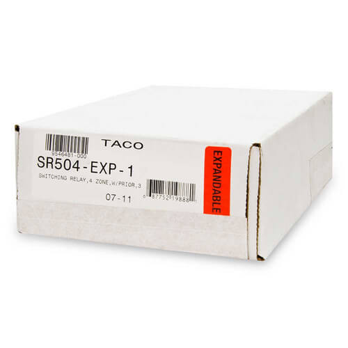 SR504-EXP-1 - Taco SR504-EXP-1 - 4 Zone Switching Relay w