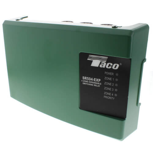 taco sr504 wiring diagram wiring diagram basic sr504 exp 4 taco sr504 exp 4 4 zone switching relay w priority4 zone switching relay