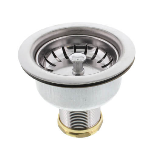 Deep Cup Duo Strainer Snap Lock Basket Brass Slip Nut Product Image