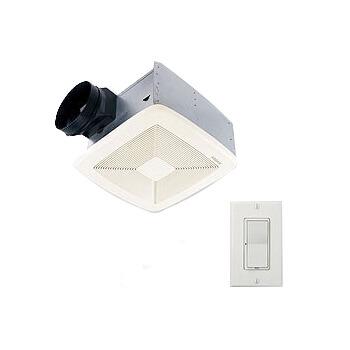 """SSQTXE080 SmartSense Ventilation Fan w/ Control, 6"""" Ducting (80 CFM) Product Image"""