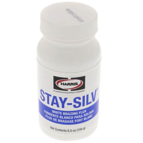 Stay-Silv White Brazing Flux Brush Cap Bottle (6.5 oz) Product Image