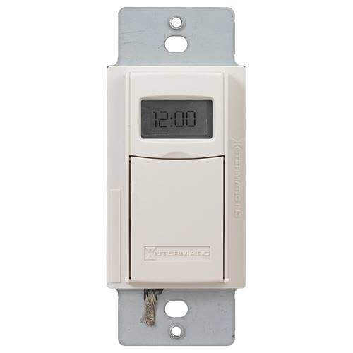 Heavy Duty 7-Day Digital Programmable Timer w/ Astro Feature (Light Almond) Product Image