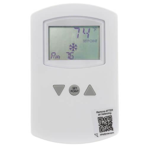SimplyVAV Digital Temperature Sensor, Wall-Mounted Product Image