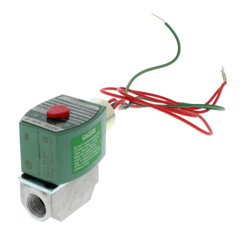"""1/8"""" NPT 2 Way Normally Closed Direct Acting Gas Shutoff Valve (120V) Product Image"""