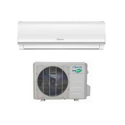 24,000 BTU SVH Series Single Zone Ductless Mini-Split AC/Heat Pump Package, 208/230V Product Image