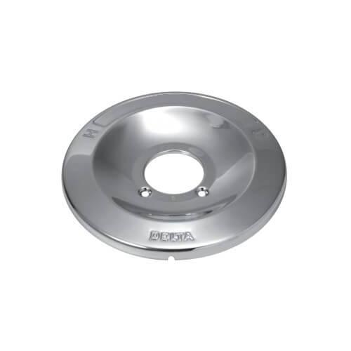 """Chrome Escutcheon (6-3/4"""" OD) for Delta 600/1600 Series Product Image"""