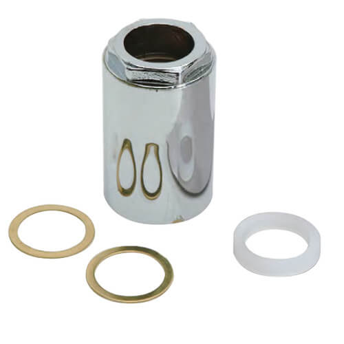 Mixet Retainer Nut Valve Repair for Single Handle Faucets (Chrome) Product Image