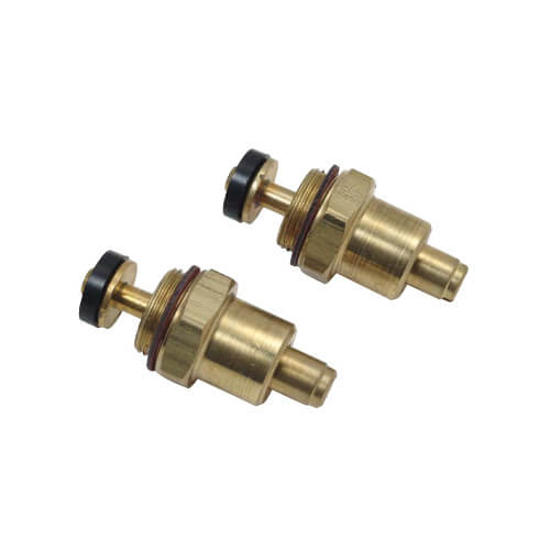 Mixet Screwdriver Check Stops for Single Handle Faucets (Pair, Brass) Product Image