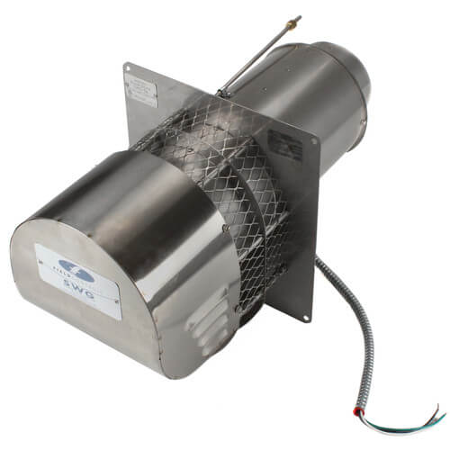 """5"""" Stainless Steel Power Venter (290,000 BTU) Product Image"""