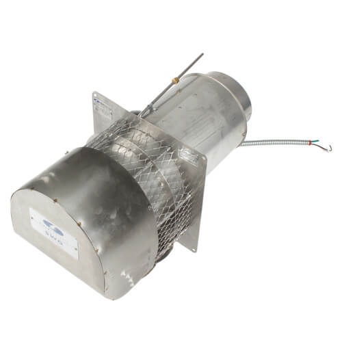 """6"""" Stainless Steel Power Venter (416,000 BTU) Product Image"""