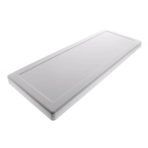 Fit-All White Plastic Toilet Tank Cover Product Image