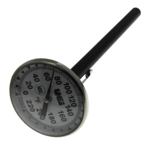 "T220/3, 1-3/4"" Pocket Dial Thermometer Product Image"