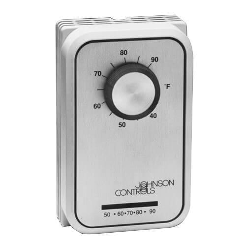 t26j 9c johnson controls t26j 9c 78 to 90f cooling line voltage thermostat spst. Black Bedroom Furniture Sets. Home Design Ideas
