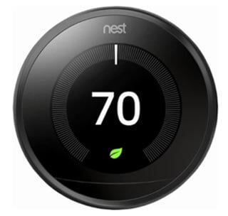 Nest Learning Thermostat - 3rd Generation (Carbon Black) Product Image