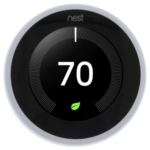 Nest Learning Thermostat - 3rd Generation (White) Product Image