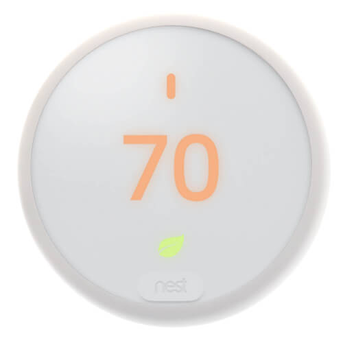 Nest Thermostat E Pro, 2H/1C or 2C/1H (White) Product Image