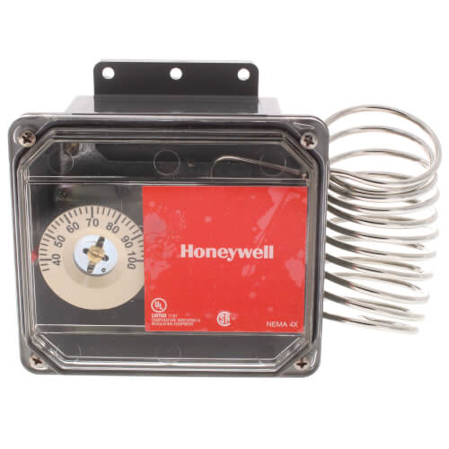 Agricultural Temperature Controller, 35 to 100 F w/ NEMA 4X (24 Vac or 120/240 Vac) Product Image