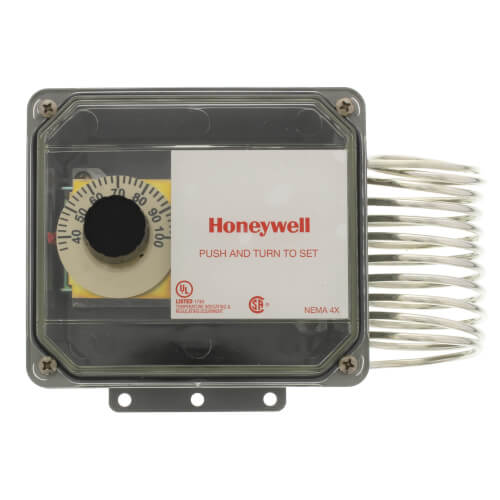 Agricultural Temperature Controller, 35 to 100 F w/ 2 SPDT (120/240 Vac) Product Image