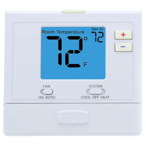 T701 Digital Non-Programmable Thermostat (1H/1C) Product Image