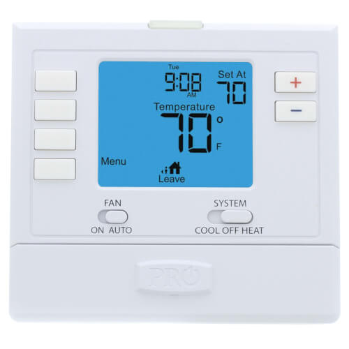 T705 5/1/1 Day Digital Programmable Thermostat (1H/1C) on